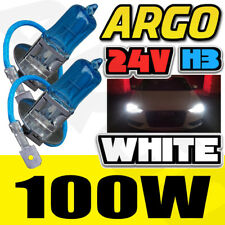 H3 24 Volt 24v 100 Watt 100w Halogen Xenon White Headlight Worklamp Bulb 496