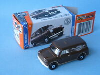 Matchbox Austin Mini Van Chocolate Brown Toy Model Car 63mm Boxed
