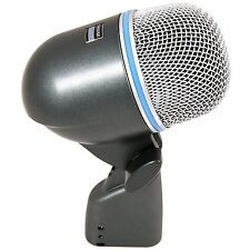 Shure Beta 52A 52 Kick Drum Bass Recording Live Cardioid Dynamic Microphone