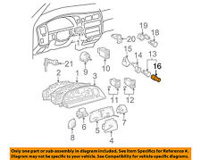 TOYOTA OEM Dash Cluster Switch-Element 8552028010