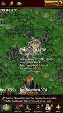 game of war account for sale  I'm new kingdom 1108