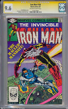 IRON MAN #156 GCC 9.6 OWW SS STAN LEE SINGLE HIGHEST GRADED #1191274001