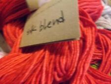 Manos Del Uruguay Silk / Extrafine Merino Hand Dyed Yarn 50g #2154 Tomato