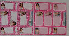 14 Stück 2x FOGLI ADESIVI Booklet ETICHETTE Disney Violetta NUOVO