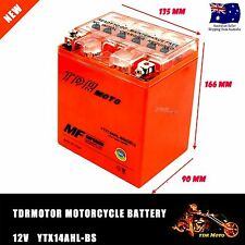 YTX14AHL-BS Replace 12V 14AH Motorbike Battery CB14L-A1 CB14L-A2 CB14L-B2 AGM AU