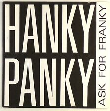 """7"""" Single - Ask For Franky - Hanky Panky - S1648 - washed & cleaned"""