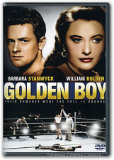 Golden Boy DVD New Barbara Stanwyck, Adolphe Menjou, William Holden, Lee J. Cobb