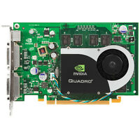 Nvidia Quadro FX 1700 512MB PCIe x16 Dual DVI-I Video Graphics Card OEM Ref