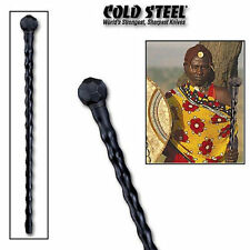 37 Inch Cold Steel African zulu black Hiking Walking fighting Stick Cane