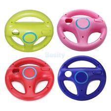 Lot 4 Game Racing Steering Wheel for Nintendo Wii Mario Kart Remote Controller
