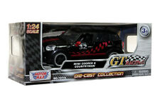 MOTORMAX MINI COOPER S COUNTRYMAN 1/24 BLACK W/ RED #32  DIECAST CAR 73770