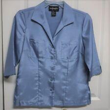 Requirements Shiny Blue Blouse Size 6P