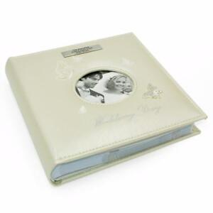Personalised Large Wedding Photo Picture Album Gift Boxed 71133-P