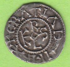 Carolingian Denarius Karl the Bald 843-877 Chartres rare nice leipzig