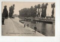 AUBERVILLIERS - Le canal Saint-denis (J2735)
