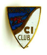 Spilla Bormio Sci Club cm 1,6 x 1,9