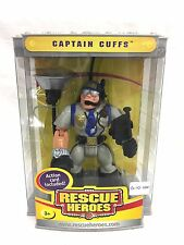 Fisher Price Rescue Heroes Captain Cuffs New