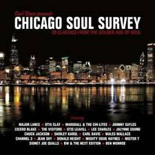 CHICAGO SOUL SURVEY Various NEW & SEALED SOUL CD (GRAPEVINE) 60s 70s NORTHERN