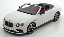 GT Spirit 2015 Bentley Continental GT V8 S Cabrio  1/18 LE of 504 1/18 In Stock!