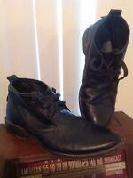 Rudsak Shoes / Boots Sz US 10.5 EU 42 Men's Leather Ankle