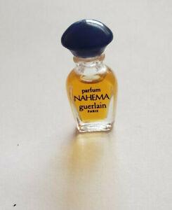 Vintage Nahema Guerlain Paris  Mini Splash Parfum Perfume - no box