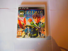 ben 10 ultimate alien cosmic destruction manque notice ps3 ps 3 playstation 3