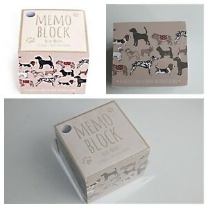 Memo Block Dog Design  750 sheets  8 x 8 cm