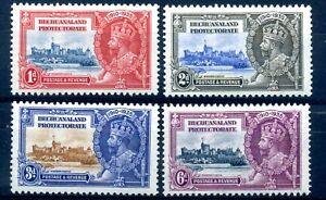 Bechuanaland 1935 silver jubilee set MH