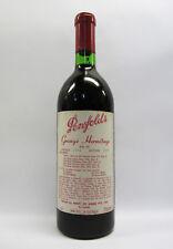 Penfolds Grange Shiraz 1974 Red Wine Clinic