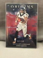 2019 Panini Origins Football Red #32 Phillip Lindsay /299