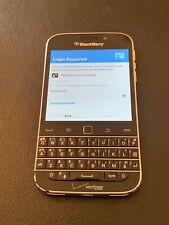 BlackBerry Classic Black 16Gb Unlocked Gsm World Wide Read For Parts