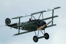 "Model Airplane Plans (UC): Fokker DR.1 Triplane 1/12 Scale 24"" .09-23 (Musciano)"
