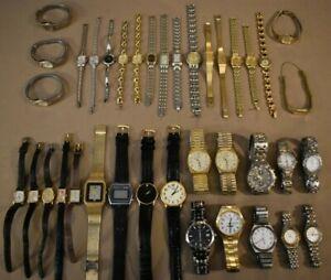 38 Pulsar Watches Quartz Watch Lot