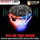 Force1 Scoot LED Hand Drone for Kids - Kids Drone, Flying Ball Drone, Light Up
