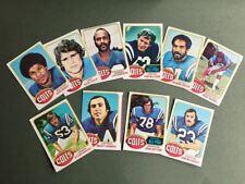 Lot cartes NFL Baltimore ColtsTopps 1976 1980 1981 Football Américain