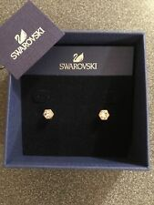 100 Genuine Swarovski Rose Gold Stud Earrings 5371199