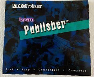 Video Professor Learn Publisher