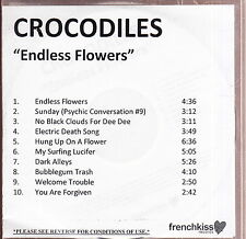 crocodiles limited edition cd