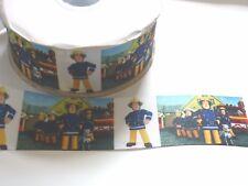 Decoración de Pasteles Artesanía Cinta Decoración De Cumpleaños - 50 Mm-Fireman Sam - 1 M
