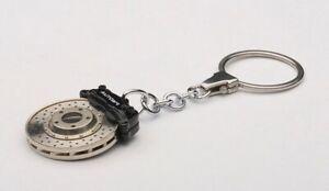 AUTOart 40082 Racing Brake Disc Key Chain Black Caliper / Omega Shape