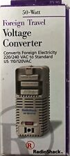 RadioShack Foreign Travel Voltage Converter 50 Watt 273-1412