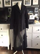 Oversized Coat Long 10 12 Italian Cashmere Vintage Riding Coat
