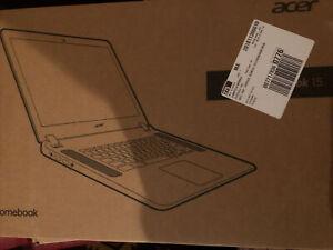 """Acer Chromebook 15.6""""HD N3060 4GB 16GB eMMC Chrome OS CB3-532-C8DF"""
