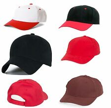 Men Women Baseball Cap Plain Snap Back Caps Adjustable Strap LA Hat Snap Back
