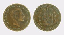 pci4374  SPAGNA SPAIN 5 Centimos 1878