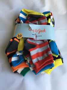 Cat & Jack Boys' 10pk Ankle Socks New