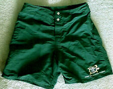 Vtg Da Hui Keep Da Ocean Clean Board Surf Shorts Green Sz 32 north shore hawaii