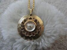 Up Necklace Pendant Watch - Problem Pretty Swiss Made  00004000 Hawthorne 17 Jewels Wind