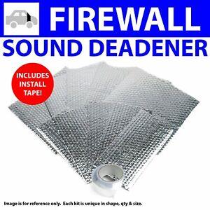 Heat & Sound Deadener Early Cars 1941 - 1948 Firewall Kit + Seam Tape 12492Cm2