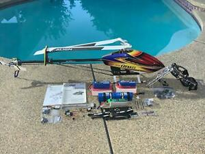 Align T-Rex 800E Pro DFC RC Helicopter with Align G800 Aerial Gimbal System *NEW
